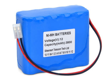 China Multi Parameter Patient Monitor 3800mah Nimh Battery , 12 Volt Nimh Battery Pack  supplier