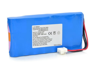 China 14.4 Volt Battery Pack 5200mAh Li-Ion Battery For COMEN CM-1200A ECG - ICR18650 supplier