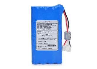 China For FX-7402 FX-7412 FX-7432 Fukuda ECG Battery ECP-7600 9.6V 3800mAh NI-MH supplier