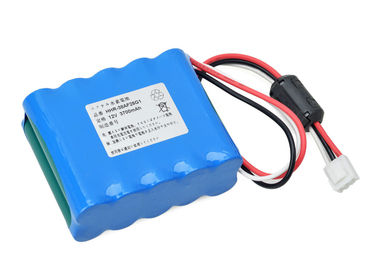 China 84 X 66.5 X 34 Mm ECG Battery For Kenz Cardico 1210 Kenz Cardico 1211 / 12V 3800mAh NI-MH supplier