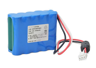 84 X 66.5 X 34 Mm ECG Battery For Kenz Cardico 1210 Kenz Cardico 1211 / 12V 3800mAh NI-MH
