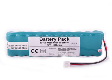 12 Volt Replacement Battery 1950mAh , For NIHON KOHDEN ECG 9620 Battery ECG-6951D ECG-9620P
