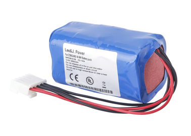 China For Zoncare ZQ-1204 / ZQ-1206 ECG 14.4 V Lithium Ion Battery Pack 12 Months Warranty supplier