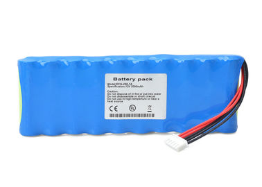 China Blue 12V 2000mah Rechargeable Battery For ANNA ECG-V90-1A ECG Replacement supplier