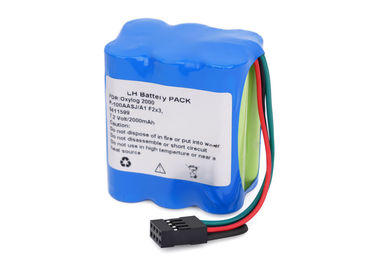China 7.2 V 2000mah Nimh Battery For Ohmeda Suction Unit Physio Control Life Pak 250 supplier