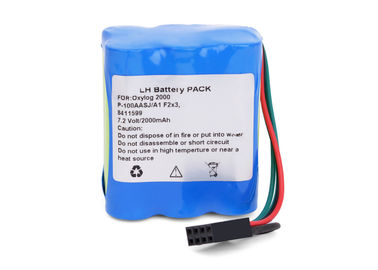7.2 V 2000mah Nimh Battery For Ohmeda Suction Unit Physio Control Life Pak 250