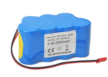 China Compatible Jms Syringe Pump Sp 500 Battery 8.4 V Nimh 3000mAh 89.5 X 43.5 X 42 Mm supplier