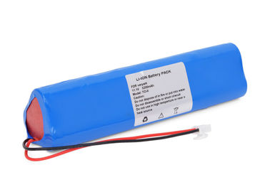 China Blue 14.8V 2600mah Li Ion Battery , Syringe Pump Battery For Veryark TCI-II supplier