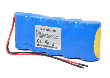 China 2500 Mah Nimh Battery For DF-5A Recorder , 6 Volt Rechargeable Battery  supplier