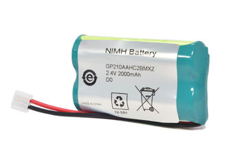 Dentistry Endodontic Micromotor 2.4V 2000mAh NiMh Battery For Dentsply PROPEX II