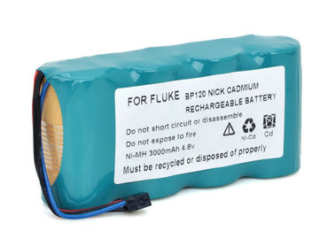 China Replacement Fluke Biomedical Corp Scopemeter Fluke 123 Battery 4.8 Volt Nimh Battery Pack  supplier