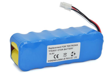 China Yokogawa OTDR Tektronix Tfs3031 Battery , 14.4V 2000mah Rechargeable Battery supplier