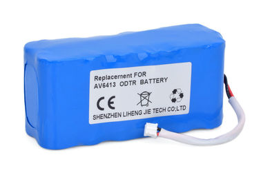China 5800mAh 11.1 V Lithium Ion Battery Pack For EI AV6413 Optical Time Domain Reflectometer supplier