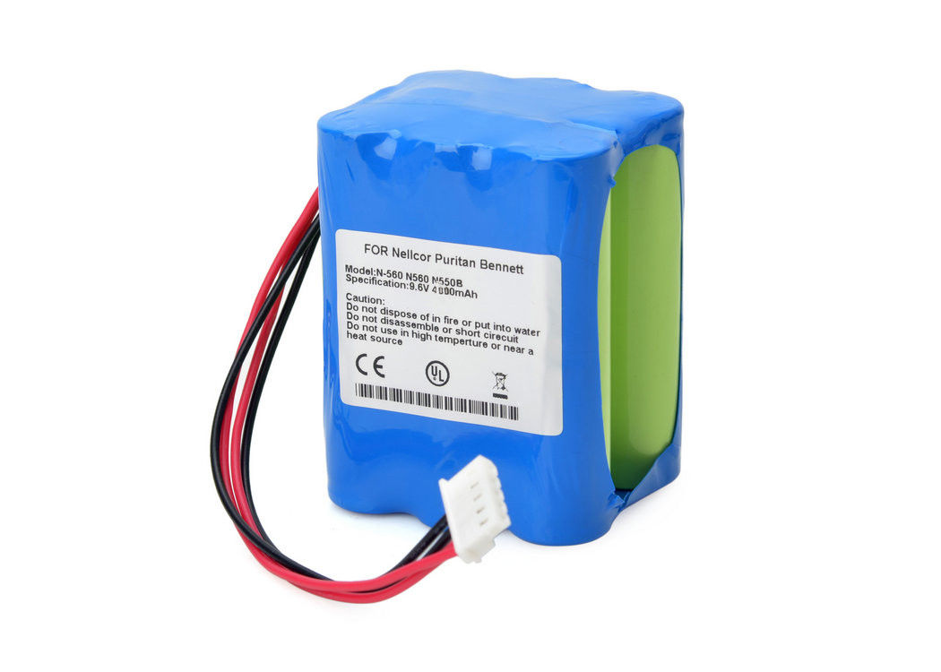 N550B N560 N-550 Pulse Oximeter Battery 9 6V 3800mAh NI-MH