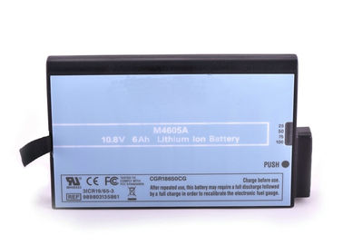 10.8 V Li Ion Battery For Philips Mp70 Monitor , Philips M8001A M8002A 7800mah Battery