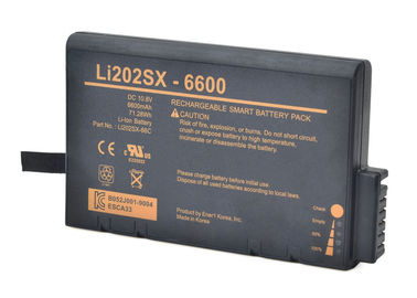 LI202SX-66C 11.1 V Lithium Ion Battery Pack For TSI 9110 9350 9500 Particle Counter